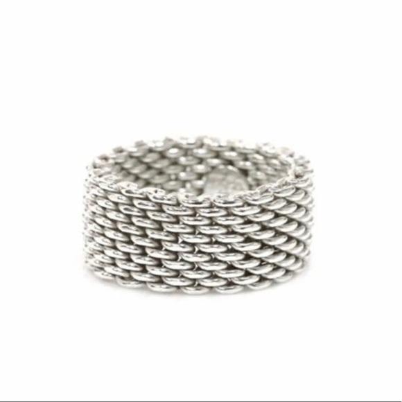 c287dbb525f25 Tiffany & Co Mesh Ring